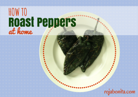 How to Roast Peppers at Home