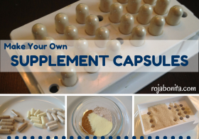 Make Your Own Supplement Capsules