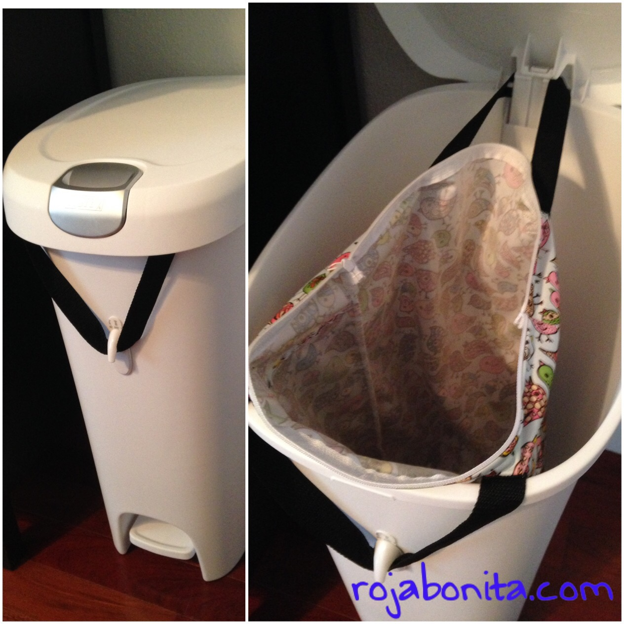 rojabonita.com | Wet Bag as Pail Liner
