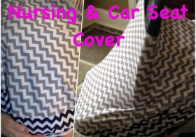 DIY All-In-One Nursing and Car Seat Cover